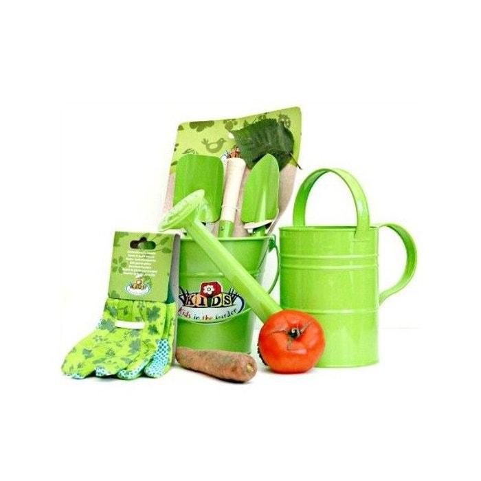 kit jardin petits outils pour enfants couleur unique pret. Black Bedroom Furniture Sets. Home Design Ideas