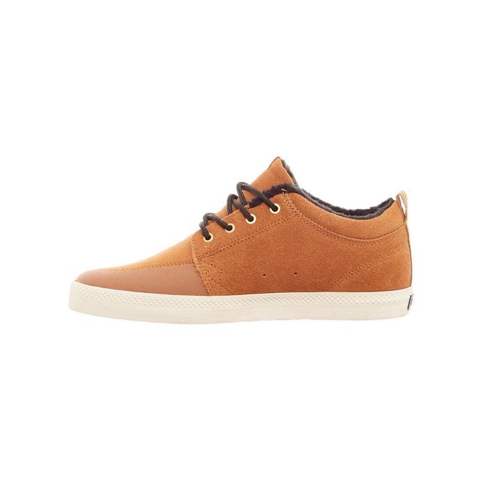 Chaussure gs chukka - fur lined brun Globe