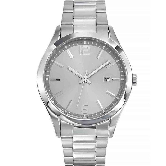 Montre en métal gris gris Certus | La Redoute Sortie D'usine Professionnel Pas Cher En Ligne Offre De Vente Boutique Pas Cher Vente Ebay TUo1DW