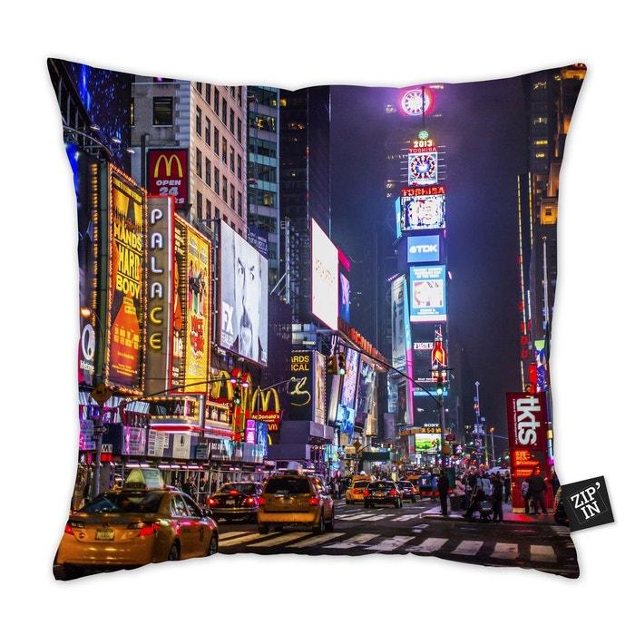 Housse De Coussin 40x40 100% Coton New York