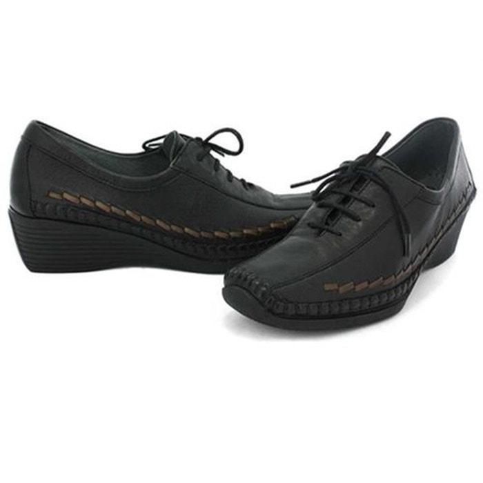 Offres Pour La Vente Chaussures à lacets cuir noir Luxat Des Prix Vente Pas Cher De Précommande BAGZIzU