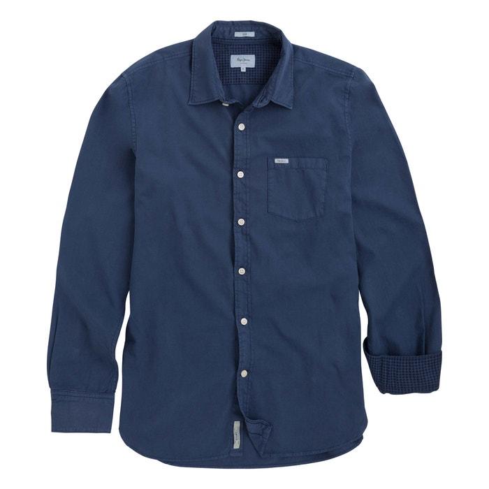 Camicia dritta, maniche lunghe  PEPE JEANS image 0