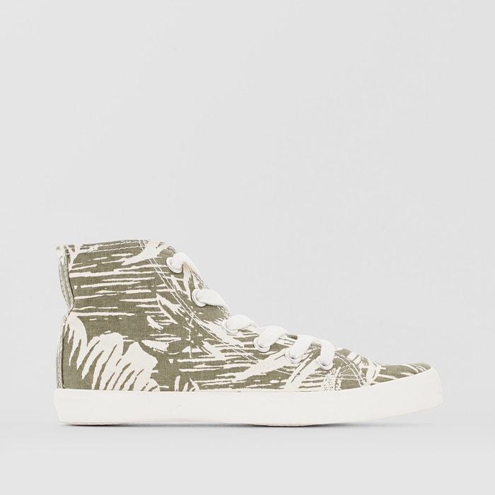 Imagen de Zapatillas de caña alta con estampado tropical R édition