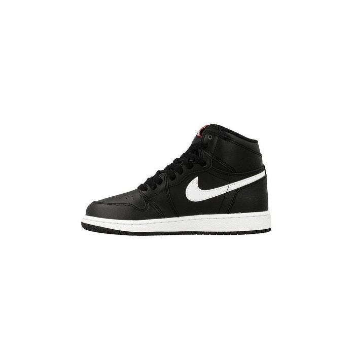 more photos 4a3d7 cdd30 Basket nike air jordan 1 retro high (gs) - 575441-011 noir Nike   La Redoute