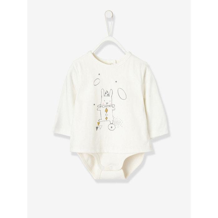 Ensemble bébé T-shirt - body et sarouel en pur coton