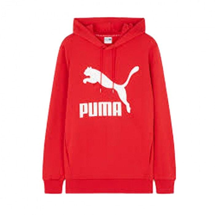 Ref Puma Hoody Classic Rouge 12 Arch 579278 Sweat La xIdqtBvnw