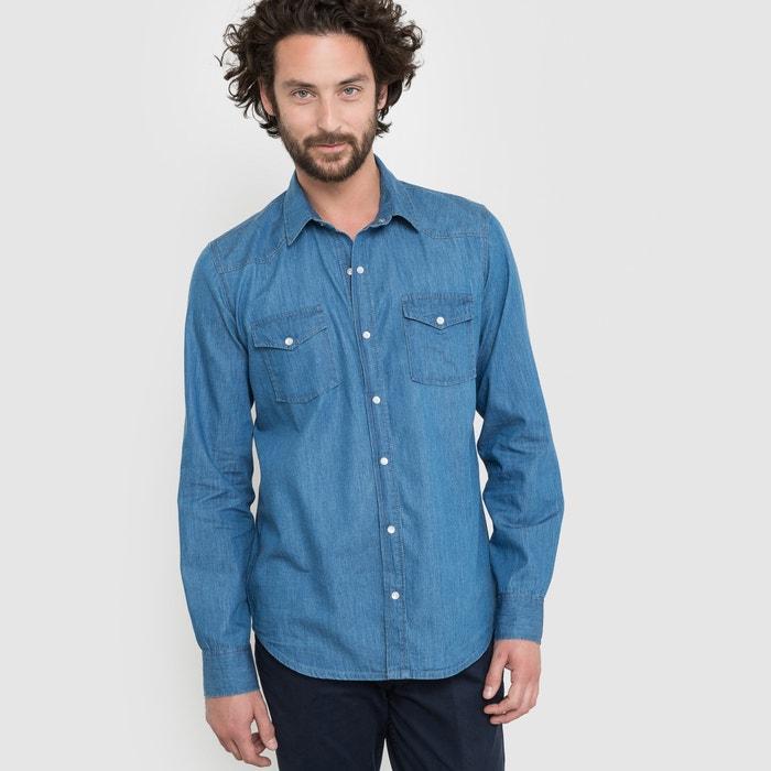 Imagen de Camisa con corte recto de denim R édition