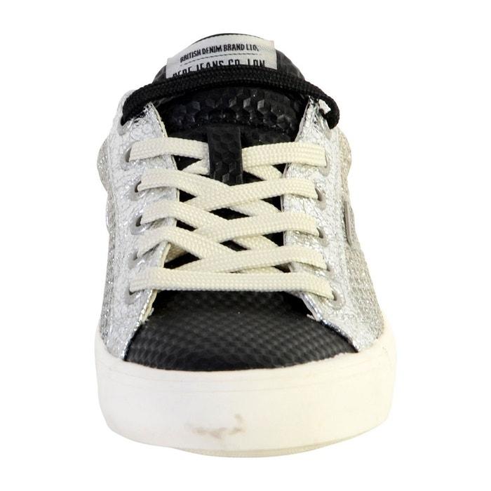 Basket stark new mesh gris Pepe Jeans