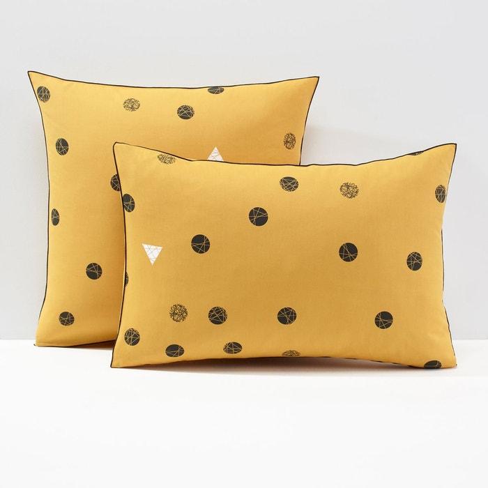 taie d oreiller percale bellvik la redoute interieurs. Black Bedroom Furniture Sets. Home Design Ideas