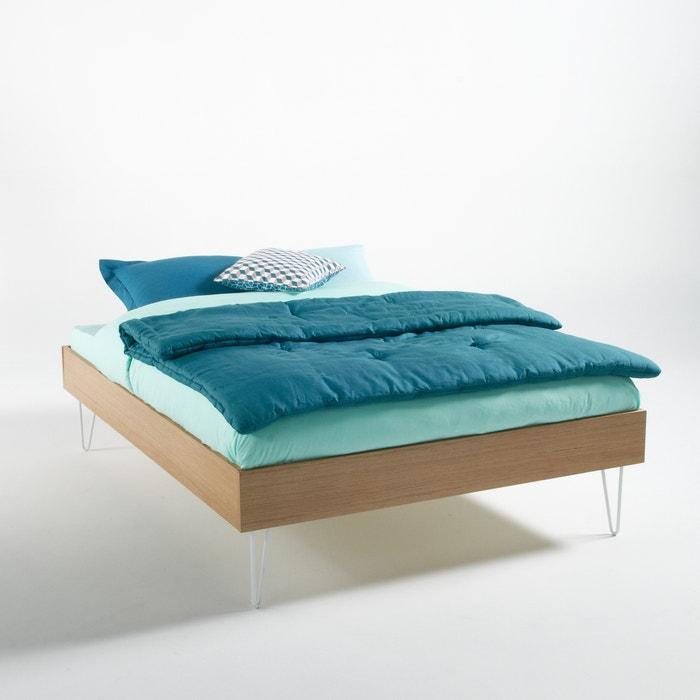 lit avec sommier adza ch ne la redoute interieurs la redoute. Black Bedroom Furniture Sets. Home Design Ideas