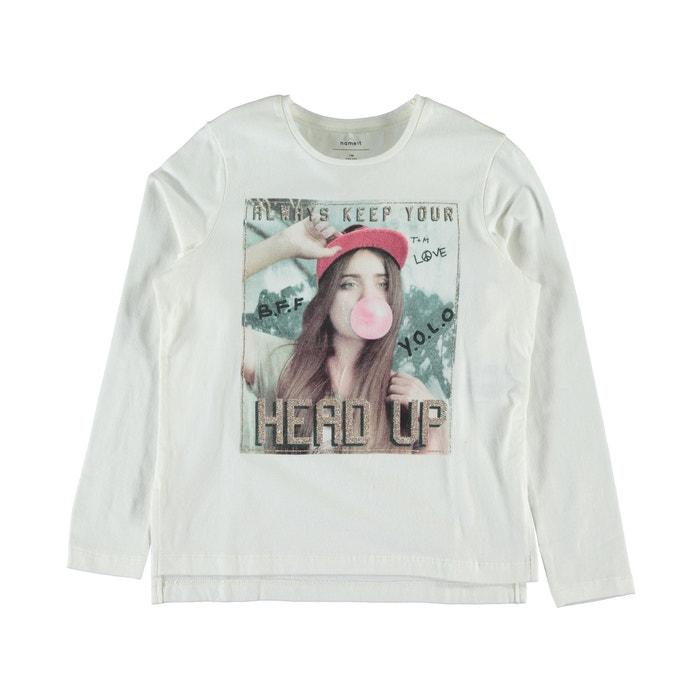 afbeelding T-shirt met lange mouwen Nitjess NAME IT