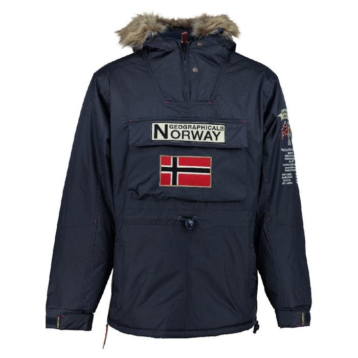 con GEOGRAPHICAL 3 semilarga 4 Parka NORWAY capucha BOOMERANG wX1X84q