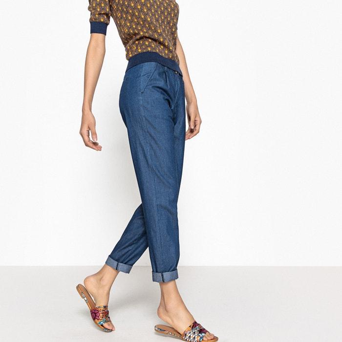 Jeans com pinças  La Redoute Collections image 0