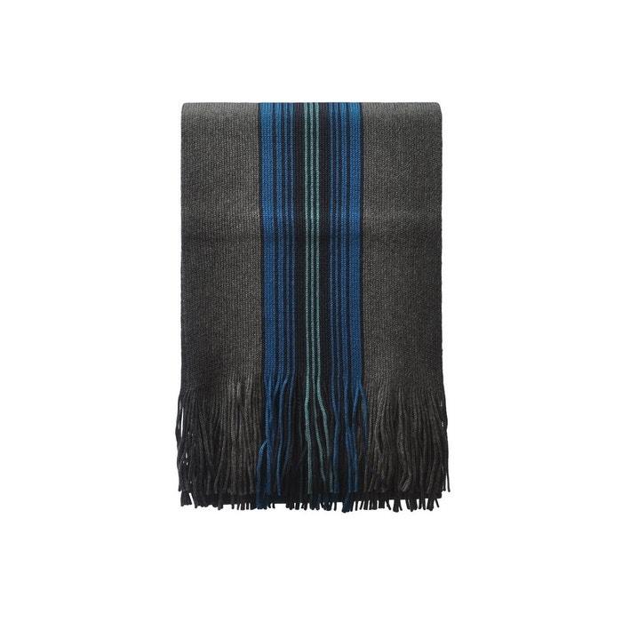 Echarpe en laine tom bleu multicolore Toutacoo | La Redoute À Vendre Pas Cher Réel yhiaELXrf