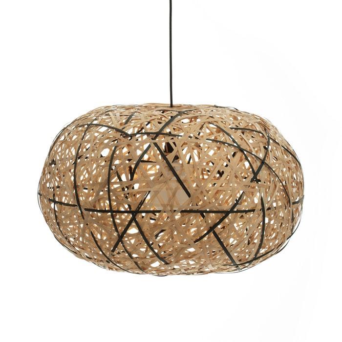 suspension bambou naturel noir 70 cm faciende naturel noir am pm la redoute. Black Bedroom Furniture Sets. Home Design Ideas