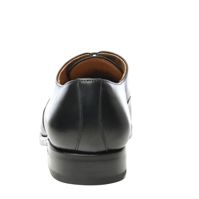 Richelieu captoe en noir noir Shoepassion