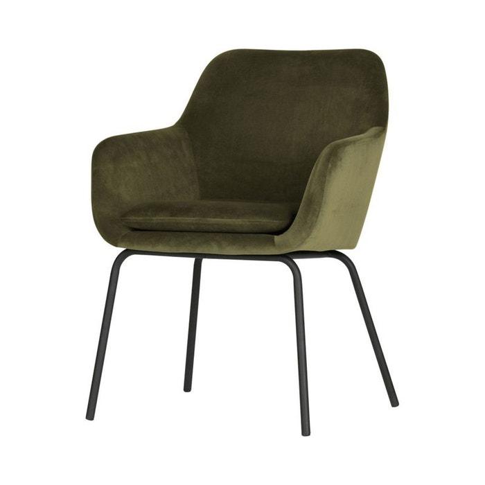 2 fauteuils de table en velours Mood