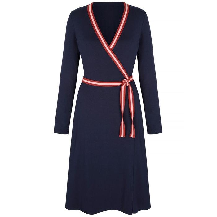 fbc0e527878d45 Robe portefeuille Cara en jersey