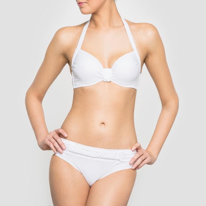 afbeelding Geplisseerde bikinislip La Redoute Collections