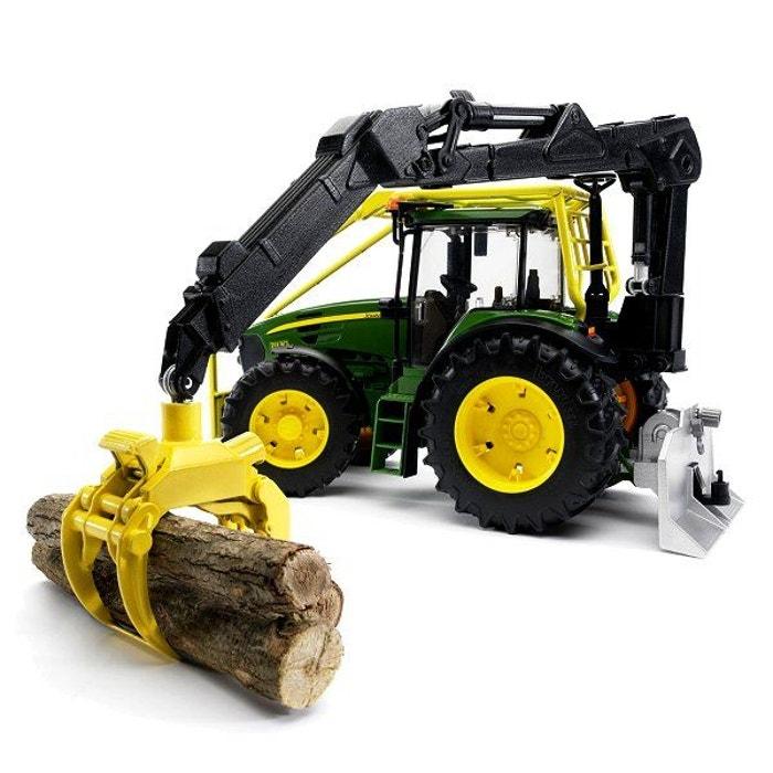 tracteur forestier john deere jouet