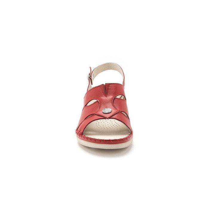 Sandales cuir ultra légères Pediconfort