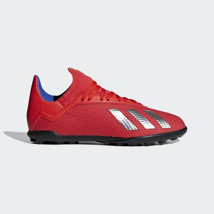 f466f0695b355 Chaussure x tango 18.3 turf rouge Adidas Performance