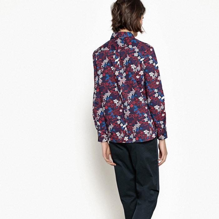 La Camisa Redoute oculta pieza Collections estampada abotonado de SrpFqSw
