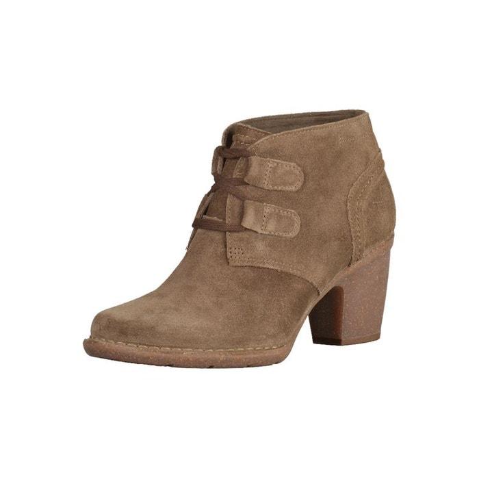 Boots et bottines clarks carleta lyon kaki Clarks Forfait De Compte À Rebours ZA8HBtC53K