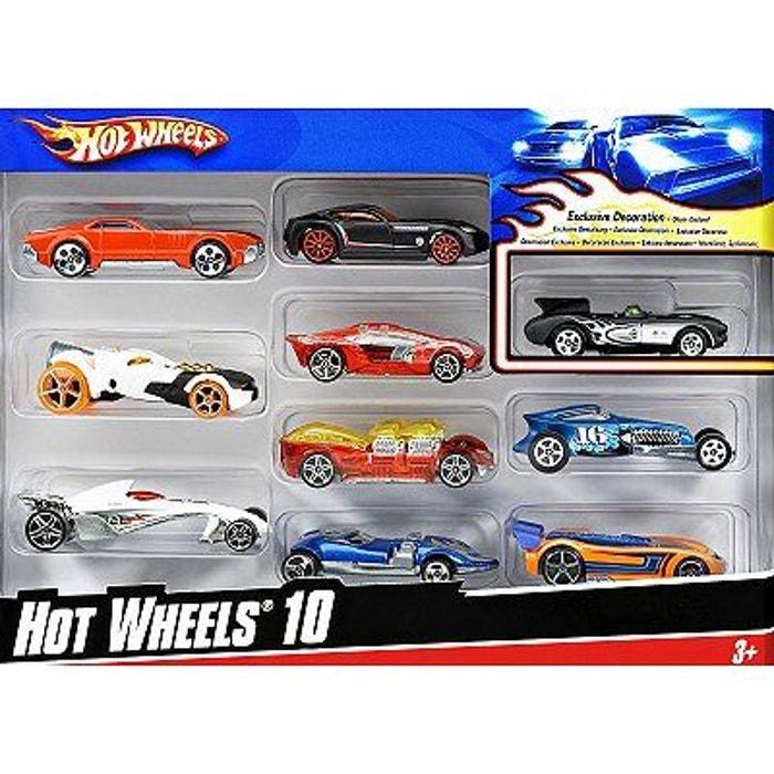 De L'assortiment 10 Hot À Voitures Coffret Wheels dWxBeCor
