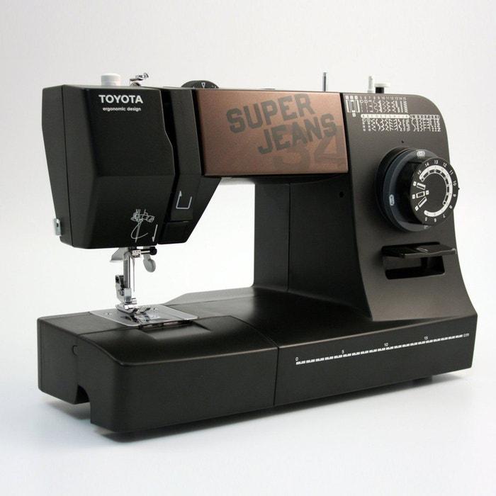 machine coudre superj34 noir toyota la redoute. Black Bedroom Furniture Sets. Home Design Ideas