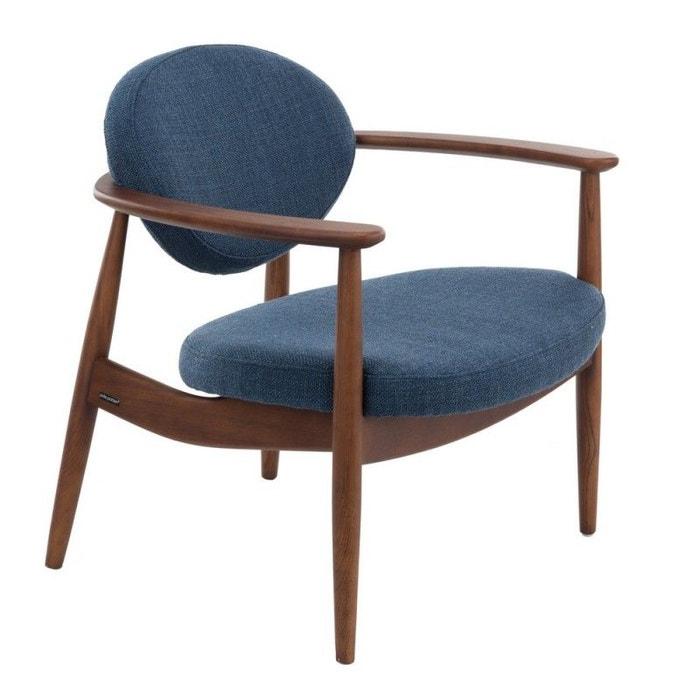 Fauteuil Bois Design Retro Roundy