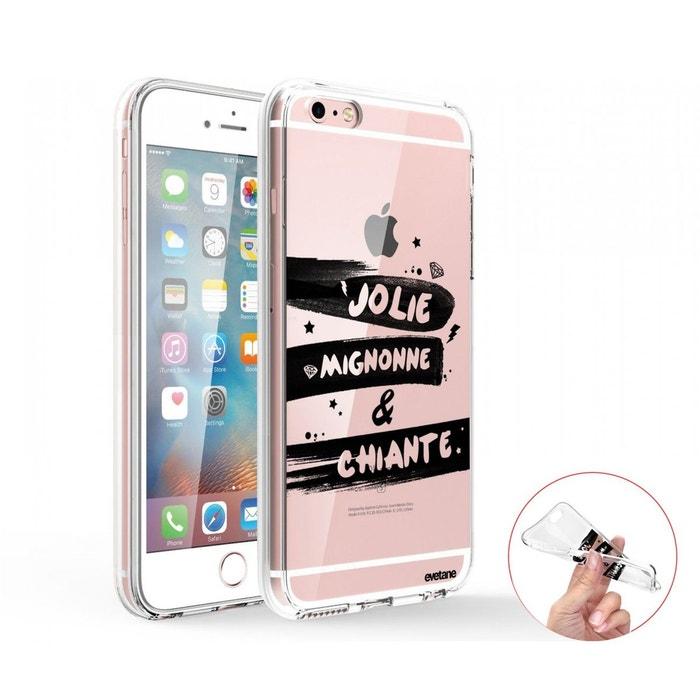 coque iphone 6 transparente integrale