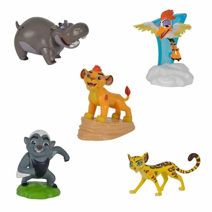Le roi lion coffret 5 figurines 6 5 cm smo109318709 - Animaux du roi lion ...