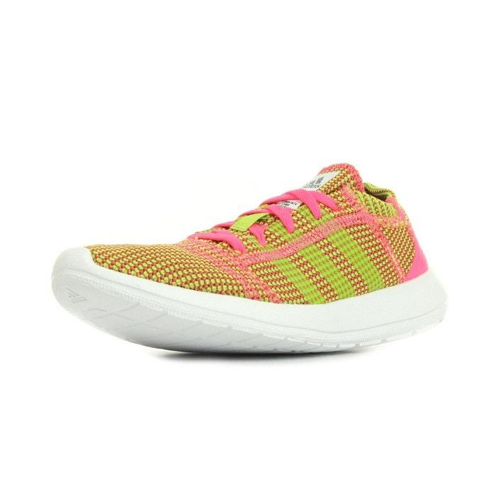 Element refine tricot rose, jaune, blanc Adidas