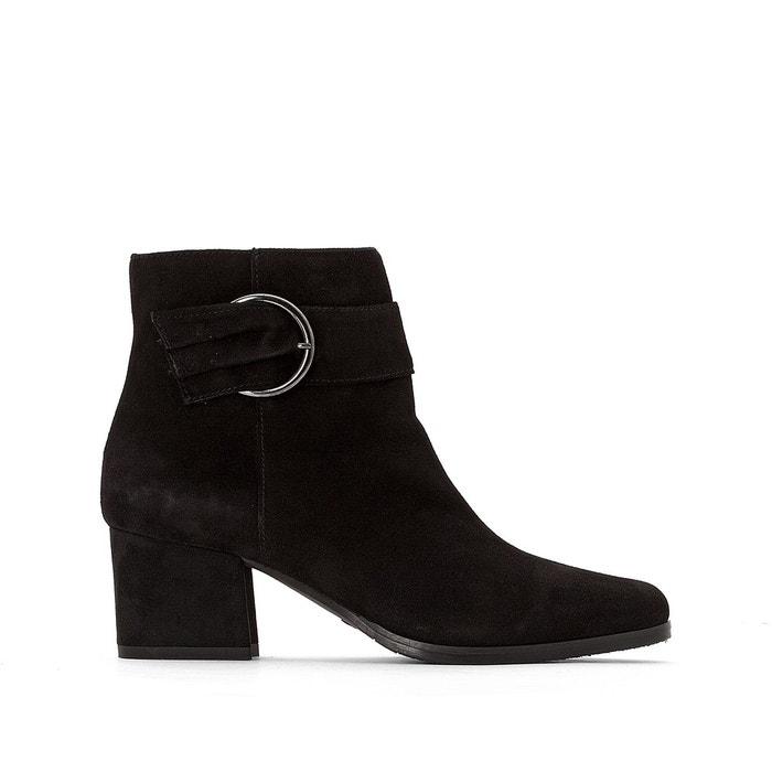 Noir Rebekka Boots Cuir Tamaris La Redoute E6aqwxB1Ra