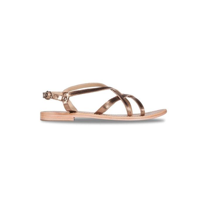 Sandales ines  bronze Bons Baisers De Paname  La Redoute