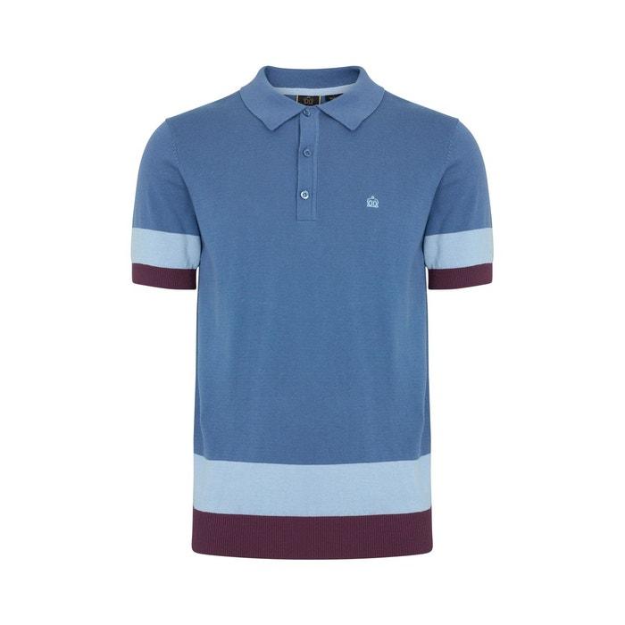 Polo bloc de couleur captain Merc London