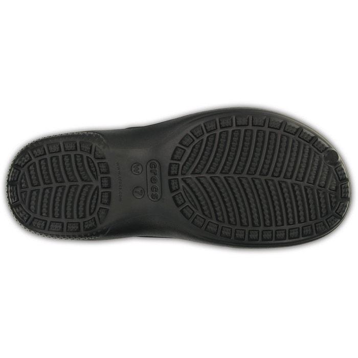 Freesail plushlined - sandales femme - noir noir Crocs