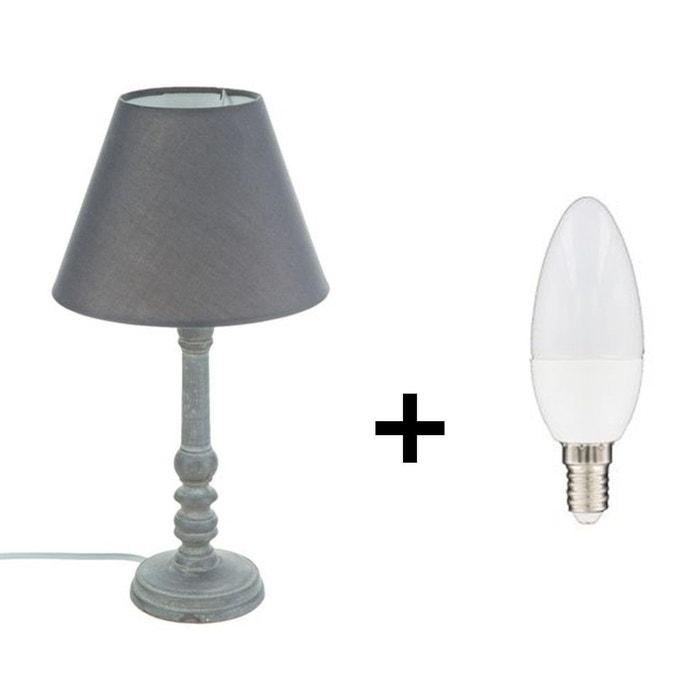 Lampe En Incluse Bois Poser Ampoule À qSUMVGpz