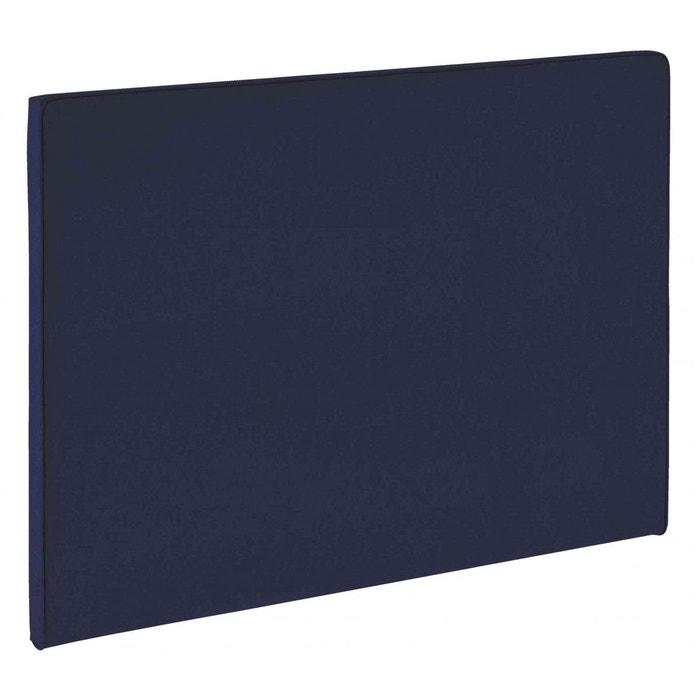 tête de lit dosseret melty bleu marine merinos | la redoute