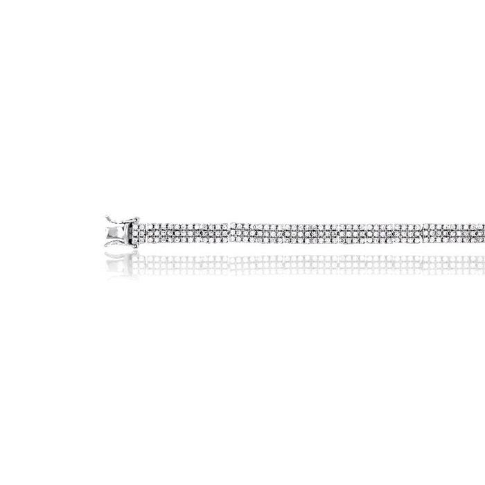Bracelet argent 925/1000 oxyde de zirconium blanc Cleor | La Redoute Vente Pas Cher Pas Cher oxESeE