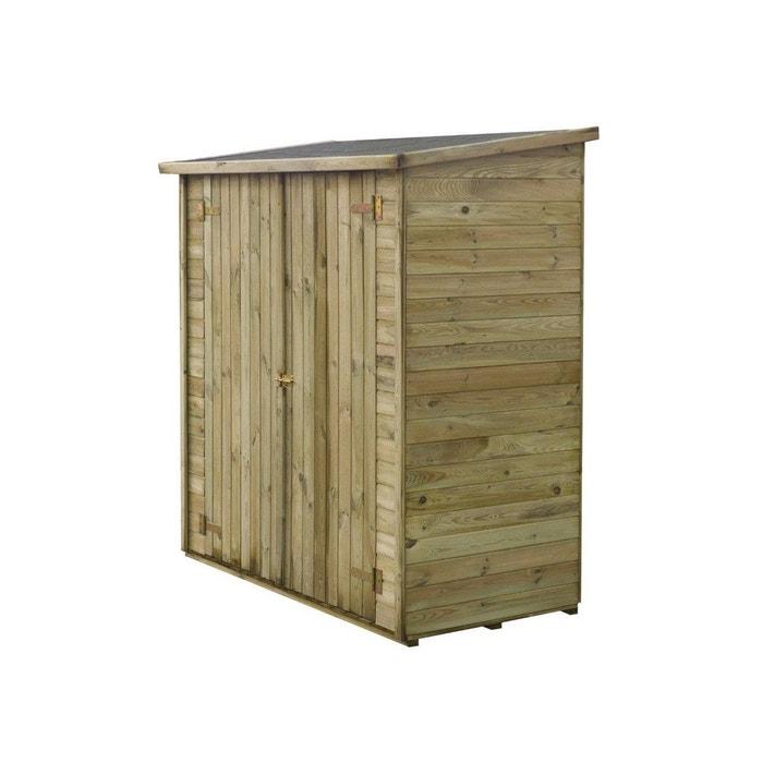 abri jardin bois adossable lipki x x. Black Bedroom Furniture Sets. Home Design Ideas