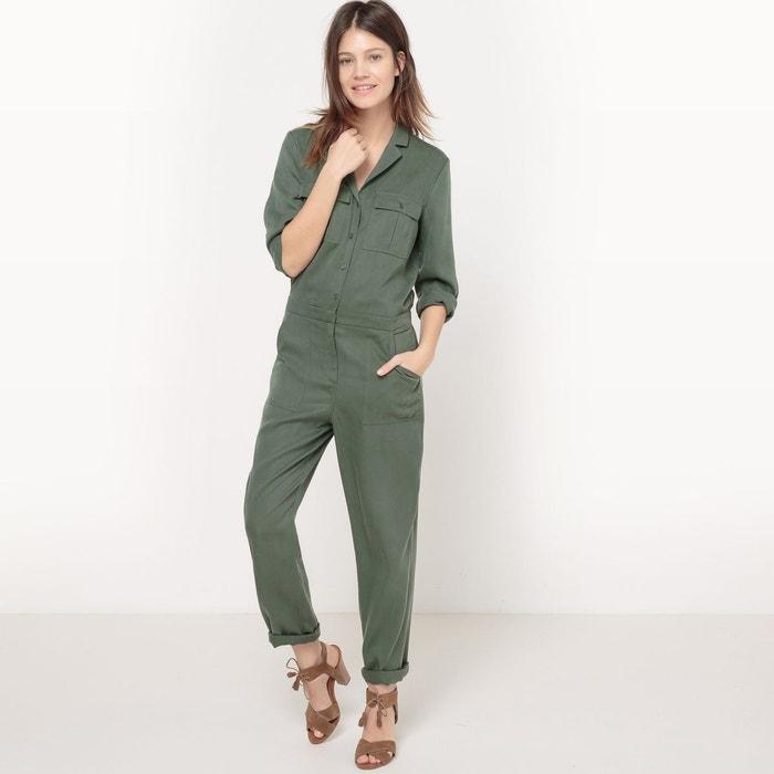 Combinaison pantalon, unie La Redoute Collections