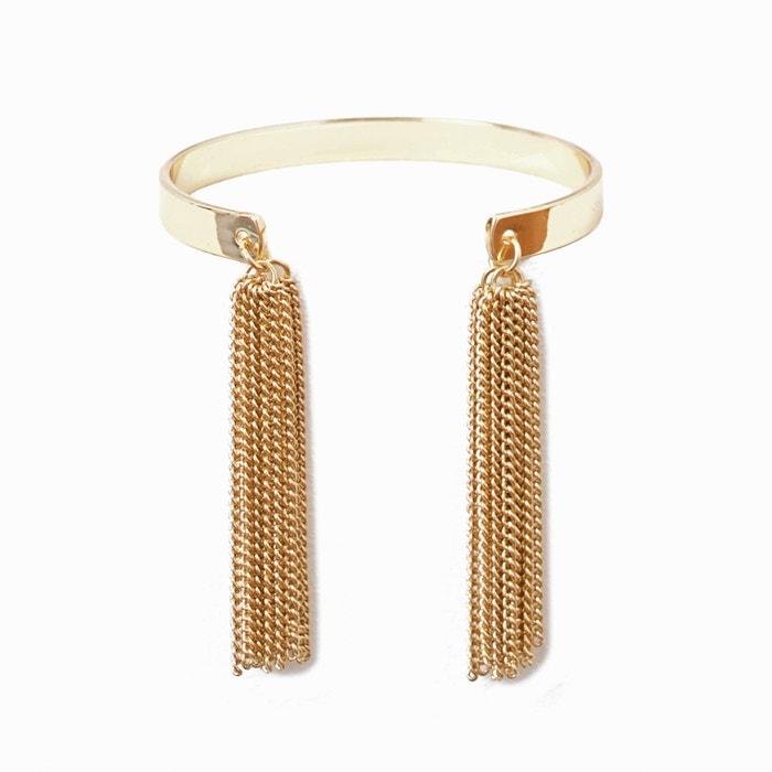 Image Bracelet, pompons métal La Redoute Collections