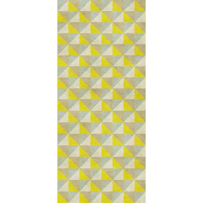 papier peint intiss jaune vintage multicolore le papiers de ninon la redoute. Black Bedroom Furniture Sets. Home Design Ideas