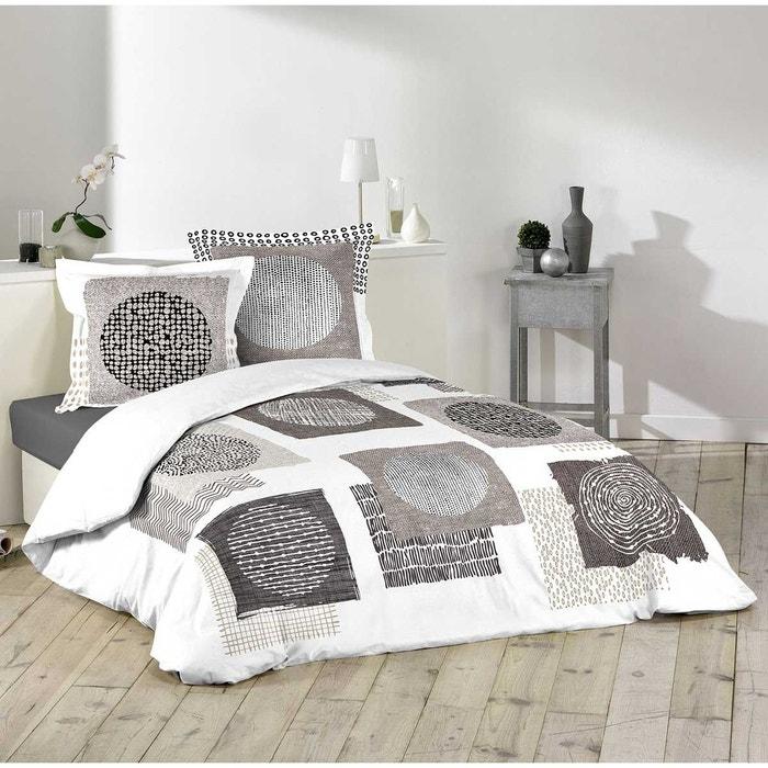 parure de lit pour 2 personnes ethnique multicolor home maison la redoute. Black Bedroom Furniture Sets. Home Design Ideas