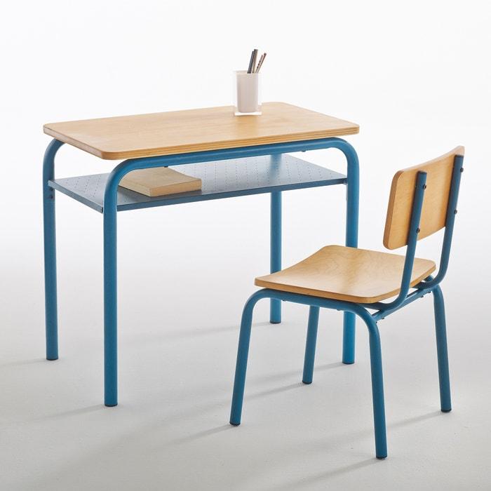 Bureau et chaise d colier vintage buton la redoute - Chaise d ecolier vintage ...