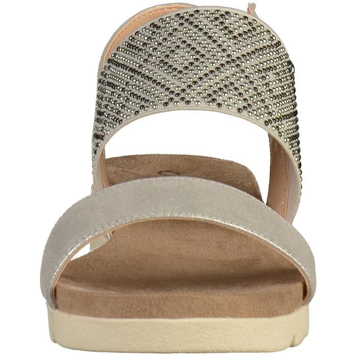 Sandales argenté Caprice