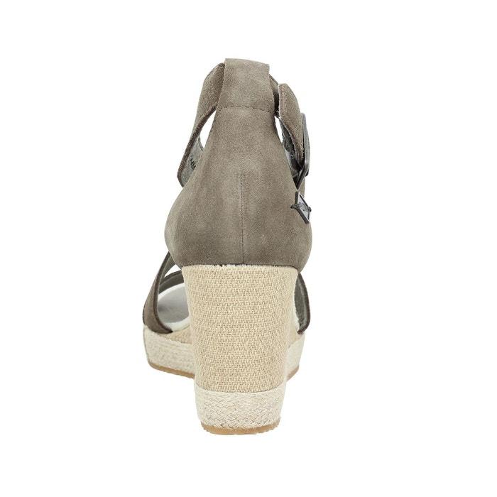 Sandales cuir p-l-d-m-by palladium wellton sud gris P-L-D-M-By Palladium