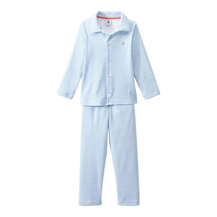 pyjama gar on forme grand p re blanc petit bateau la redoute. Black Bedroom Furniture Sets. Home Design Ideas